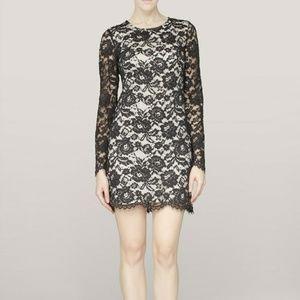NWT Theory Marique black lace dress size 10